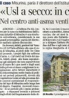 Istituto Pio XII sul Corriere della sera
