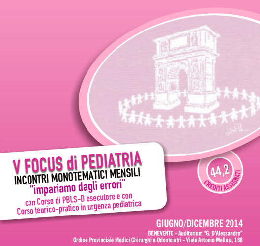 Focus di Pediatria - Benevento Giugno 2014
