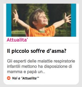 piusanipiubelli.it - Il piccolo soffre d'asma?